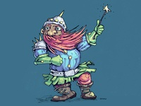 Boardgame Character Dwarf