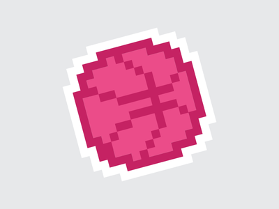 PIXEL STICKER - Dribbble Sticker Pack submission pack sticker dribbble