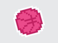 PIXEL STICKER - Dribbble Sticker Pack