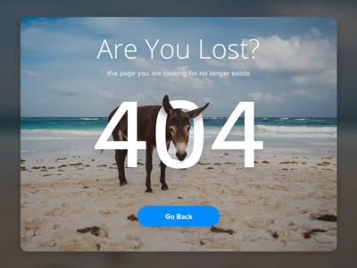 Are You Lost exists pagenolonger goback link 404error beach donkey areyoulost error 404