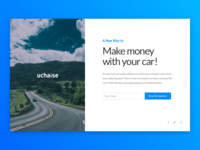 Uchaise Landing Page