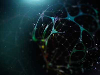 cell network v2 vray houdini render abstract 3d