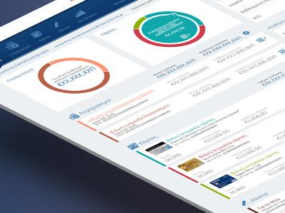 Alpha Web Banking concept