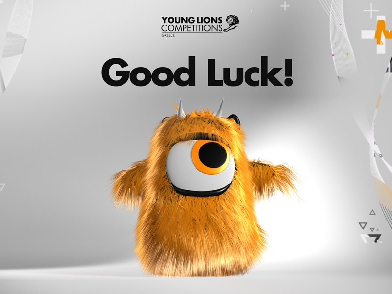 Young Lions Competition Greece Monster 2016 hairy monster 3d younglionsgreece 2016 cannesyounglions younglions