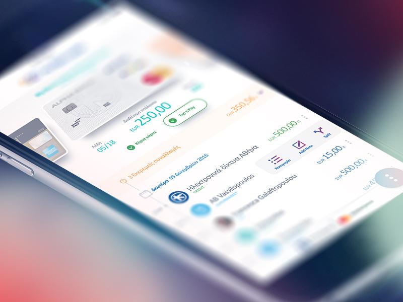 Mobile Wallet ux ui wallet finance banking fintech