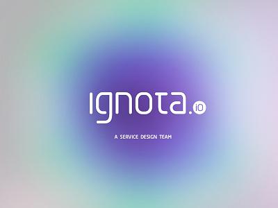 ignota.io / branding service design ux ui ignota