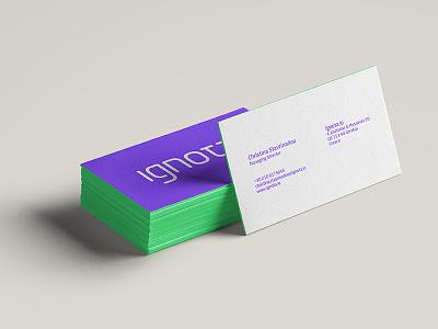 ignota.io cards cards branding ignota