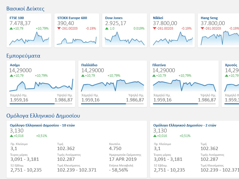 Alpha Finance Market watch trading fintech greece ignota.io ui design ui  ux ui banking investment stockmarket