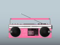 80's Cassette Player