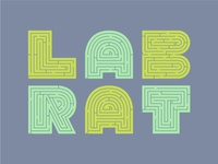 Lab Rat Experimental Typeface