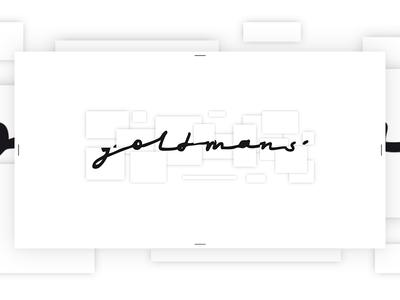 Preloader for clothing store GOLDMANS. Animating it later/// wild wear street idea store preloader