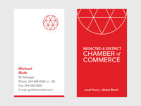Chamber of Commerce Business Card