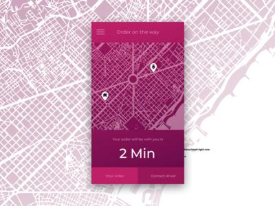Daily Ui 20 - Location tracker