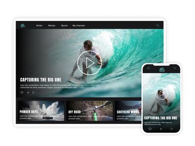 Daily Ui 25 - TV app