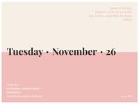 Daily Ui 38 - Calendar