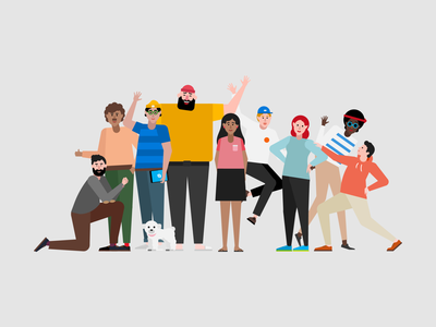 Microsoft Teams - Characters