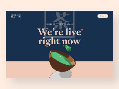 Green Tea Website
