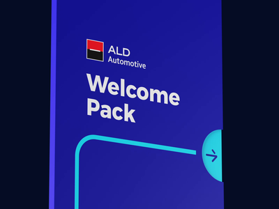 ALD - Welcome Pack experience branding onboarding design graphic animation packaging