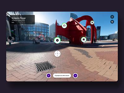 Open Gallery - Digital Museum image slider white minimal clean landing interface ui museum experience art animation website