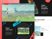 Zelda Breath of the Wild - Home page