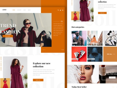 Fashion website UI/UX uidesign figma webuiuxdesign web uiux website concept website webdesign design branding ux uxdesign ui clean ui