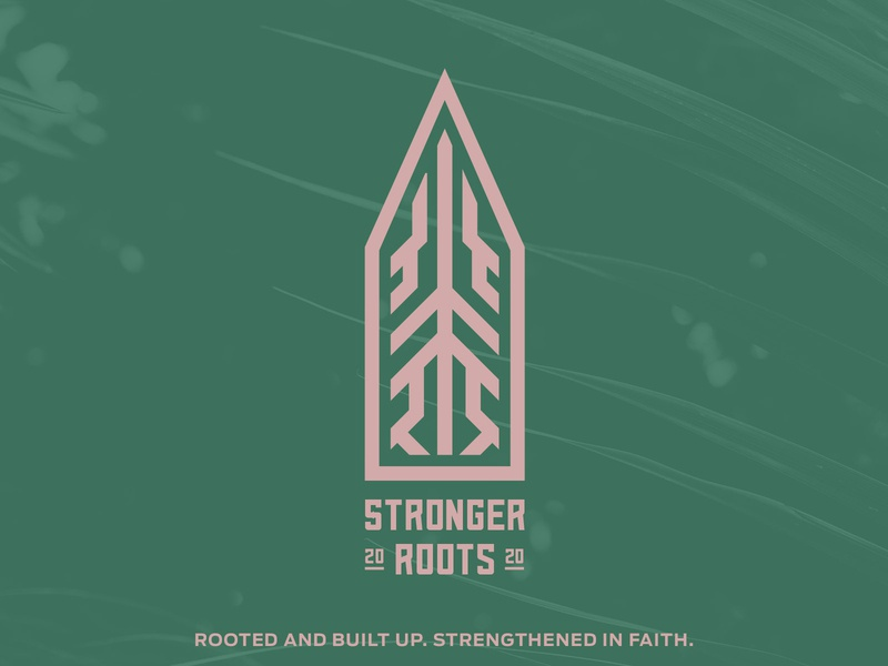 stronger roots church branding graphicdesign branding