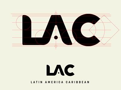 LAC Logotype branding logotype typemark wordmark logo