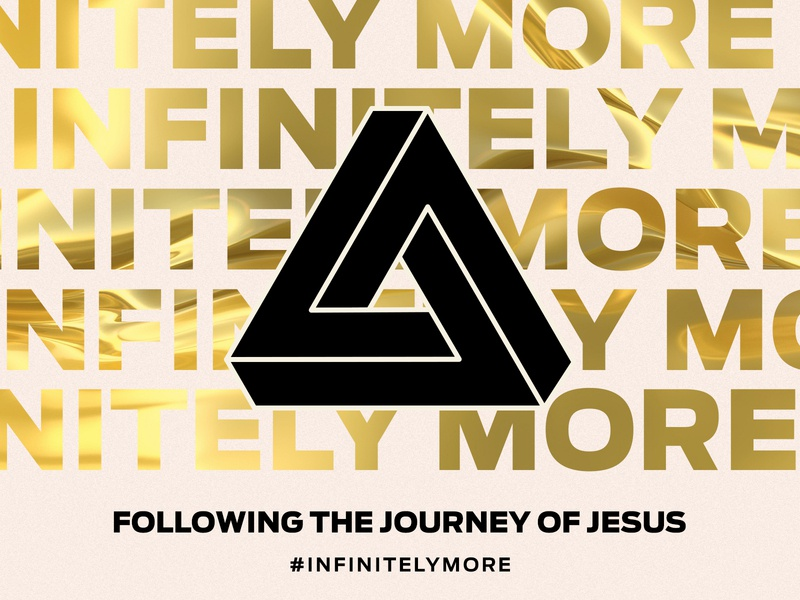 Infinitely More church design graphic design