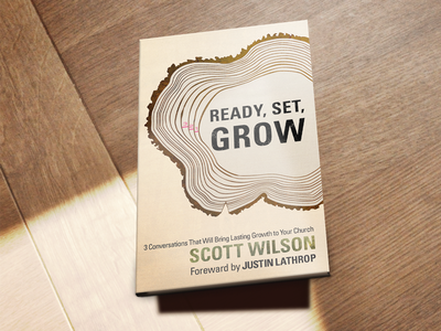 Ready Set Grow book book cover tree rings print