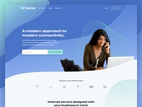 TierOne marketing website ui web design website