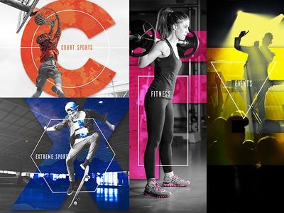 Youth in Pursuit of Awakening graphic design court sports extreme sports events fitness