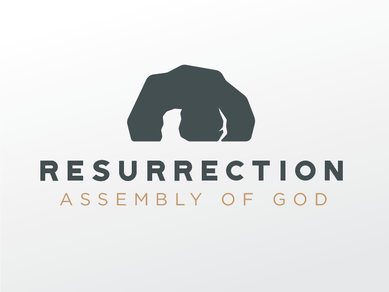 Resurrection logo-v2 tomb church logo resurrection