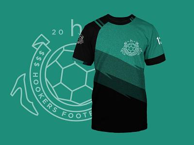 Hookers Soccer Jersey mockup jersey crest soccer