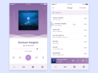 Media Player Moibile App Concept