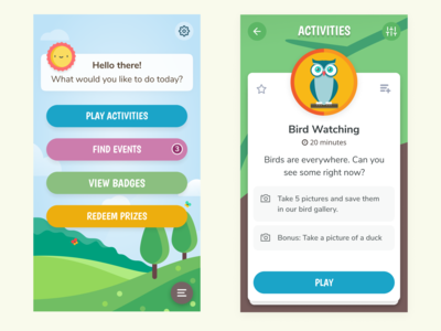 Activity App for Kids