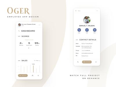 OGER | Employee app