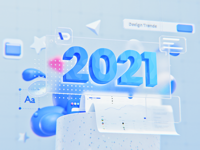2021/ Rendering Test 6 design 2021 design 2021 branding product illustration cycles calendar 3d art material blender 3d