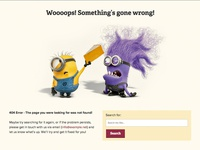 Cheese Website 404 Error Page