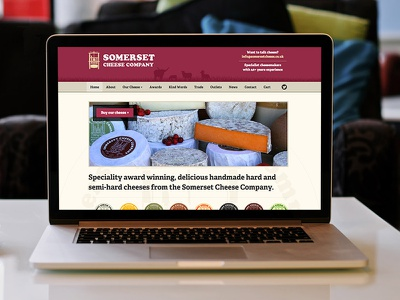 Cheese Website Final website cheese website ecommerce wordpress