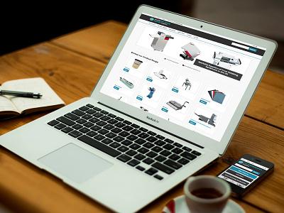 Total PFS Website Redesign design responsive website cms wordpress ecommerce website