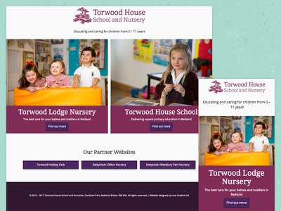 Torwood House School Website bristol school website wordpress