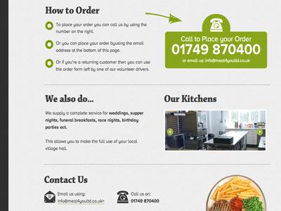 Hot Meals Website meals website food kitchen