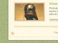 Medieval Website