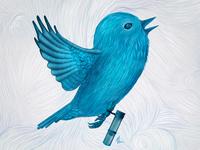 The Original Twitter Illustration