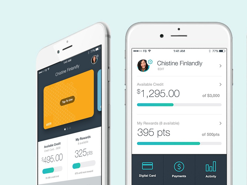 Ios Credit Card Management Dashboard By Phil Franks Dribbble