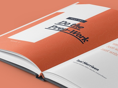 Atlas Press Guidebook Spread workbook quotes spread typography design book