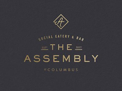 The Assembly bar eatery social ohio columbus branding logos badges workspace restaurant
