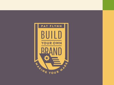 Build Your Own Brand Badge flag identity logo course podcast branding badge