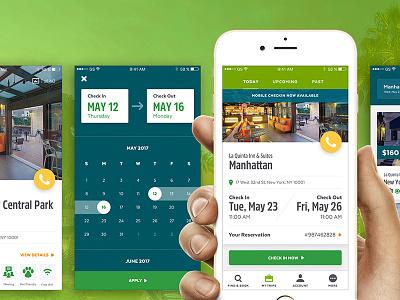 LQ Mobile App hospitality booking hotel ios app mobile ux ui design