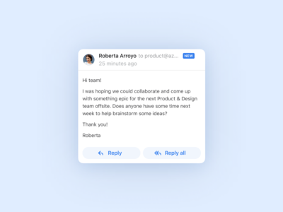 Mobile Reply Actions 📲